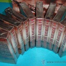 Cine: CAMPO DE BATALLA, COLECCION DE 10 VHS, 39 BATALLAS EN 15 HORAS DE PELICULA, NUEVOS A ESTRENAR. Lote 35001427