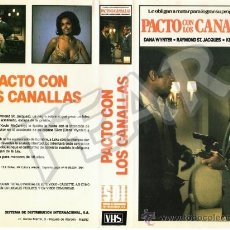 Cine: PACTO CON LOS CANALLAS - DANA WYNTER / RAYMOND ST, JACQUES / KEVIN MCCARTHY. Lote 33243660