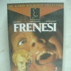 Cine: VHS - FRENESI - ALFRED HITCHCOCK. Lote 35204707