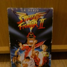 Cine: STEET FIGHTER II LA SERIE VHS CAPCON . Lote 35219864
