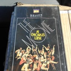 Cine: CINE VHS MUSICAL: A CHORUS LINE THE MOVIE CON MICHAEL DOUGLAS MO . Lote 35432607
