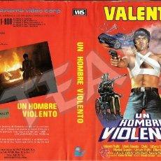 Cine: UN HOMBRE VIOLENTO - VALENTIN TRUJILLO. Lote 33221647