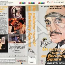 Cine: UN RUISEÑOR CANTO EN BERCKELEY SQUARE - DAVID NIVEN / RICHARD JORDAN / ELKE SOMMER. Lote 33279774