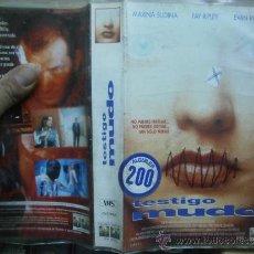 Cine: TESTIGO MUDO--VHS--COMPRA MINIMA 6 EU--. Lote 35334859