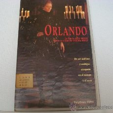 Cine: ORLANDO. VHS. 512. Lote 35381416