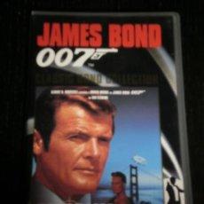 Cine: PANORAMA PARA MATAR 007 - PELICULA VHS JAMES BOND - ROGER MOORE - COLECCION PLANETA DE AGOSTINI. Lote 35424057