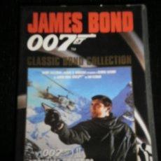 Cine: AL SERVICIO SECRETO DE SU MAJESTA 007 - PELICULA VHS JAMES BOND - GEORGE LAZENBY - PLANETA AGOSTINI. Lote 35424206