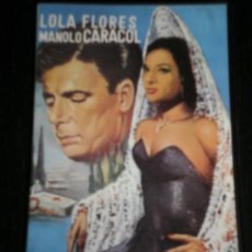 Cine: EMBRUJO - PELICULA VHS - LOLA FLORES / MANOLO CARACOL - VIDEO. Lote 35424561