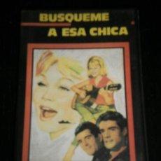 Cine: BUSQUEME A ESA CHICA - PELICULA VHS - MARISON / DUO DINAMICO / ROBERT HUTTO / ISABEL GARCES - VIDEO. Lote 35424602