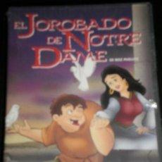 Cine: EL JOROBADO DE NOTRE DAME - PELICULA VHS - NUEVA SIN USAR - VIDEO - DIBUJOS ANIMADOS. Lote 35424725