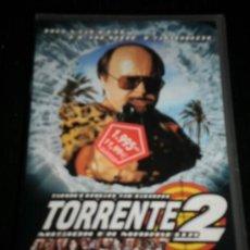 Cine: TORRENTE 2 - PELICULA VHS - NUEVA SIN USAR - SANTIAGO SEGURA -VIDEO. Lote 35425001