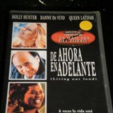 Cine: DE AHORA EN ADELANTE - PELICULA VHS - DANNY DE VITO / QUEEN LATIFAH / HOLLY HUNTER - VIDEO. Lote 35425139