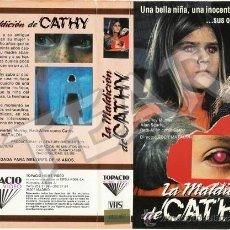 Cine: LA MALDICION DE CATHY - DESCATALOGADA. Lote 31159569