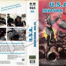 Cine: USA INVASION ROJA - TED PRIOR / DAVID A.PRIOR. Lote 33504627