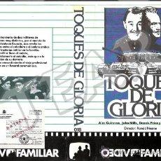 Cine: TOQUES DE GLORIA - ALEC GUINESS / JOHN MILLS / SUSAN YORK. Lote 33415466