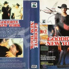 Cine: GOODBYE NEW YORK - JULIE HAGERTY / AMOS KOLLEK V2. Lote 30357944