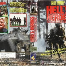 Cine: HELLS HEROES (HEROES DEL INFIERNO) CHUCK CONNORS. Lote 31971580