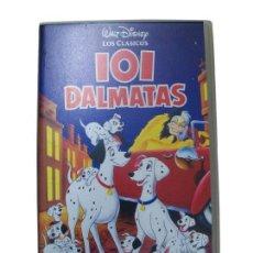 Cine: 101 DÁLMATAS. PELÍCULA VHS DISNEY.. Lote 35731534