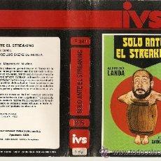 Cine: VHS\. SOLO ANTE EL STREAKING • ALFREDO LANDA. (DIR.JOSÉ LUIS SÁENZ DE HEREDIA) • VHS + DVD GRATIS. Lote 35892536