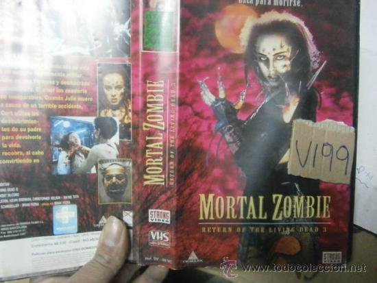 MORTAL ZOMBIE-VHS (Cine - Películas - VHS)