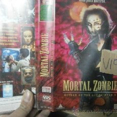Cine: MORTAL ZOMBIE-VHS. Lote 35902909