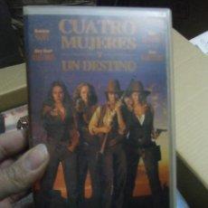 Cine: CUATRO MUJERES Y UN DESTINO--VENTA MINIMA 6 EU--VHS1. Lote 35951402