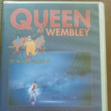 Cine: VHS QUEEN AT WEMBLEY.. Lote 25124790