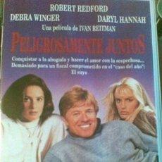 Cine: PELÍCULA (VHS) - PELIGROSAMENTE JUNTOS - ROBERT REDFORD. Lote 35966913