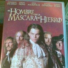 Cine: PELÍCULA (VHS) - EL HOMBRE DE LA MÁSCARA DE HIERRO. Lote 35966990