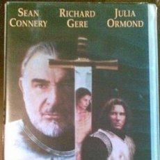 Cine: PELÍCULA (VHS) - EL PRIMER CABALLERO. Lote 35967086