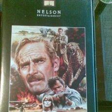Cine: PELÍCULA (VHS) - NAIROBI - CHARLTON HESTON. Lote 35967157