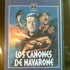 Cine: PELÍCULA (VHS) - LOS CAÑONES DE NAVARONE. Lote 35967238