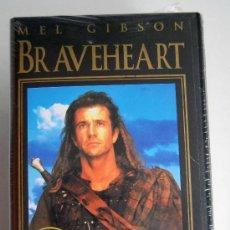Cinéma: BRAVEHEART PRECINTADA EN VHS PRECINTADA NUEVA SIN ABRIR MEL GIBSON. Lote 36091326