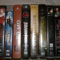 Cine: LOTE CINE ACCIÓN AVENTURA SUSPENSE VHS. 8 PELÍCULAS. Lote 36492959