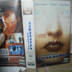 Cine: TESTIGO MUDO--VHS--COMPRA MINIMA 6 EU--. Lote 36184588