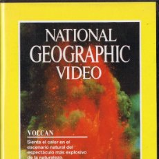 Cine: VHS - NATIONAL GEOGRAPHIC - VIDEO - VOLCÀN. Lote 36240291