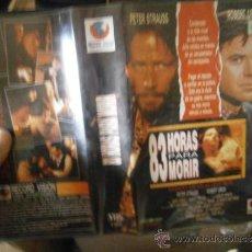Cine: 83 HORAS PARA MORIR-VHS-COMPRA MINIMA 6 EU--. Lote 36262440