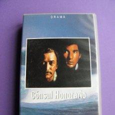 Cine: PELÍCULA CÓNSUL HONORARIO EN VHS, MICHAEL CAINE, RICHARD GERE. Lote 36376312