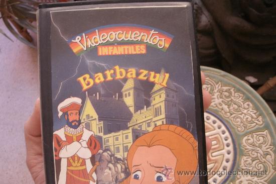 BARBAZUL Y JORINDE Y JOREL - CINTA VHS ORIGINAL COLECCIÓN VIDEOCUENTOS INFANTILES - (Cine - Películas - VHS)