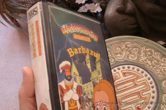 Cine: BARBAZUL Y JORINDE Y JOREL - CINTA VHS ORIGINAL COLECCIÓN VIDEOCUENTOS INFANTILES - - Foto 2 - 173001103