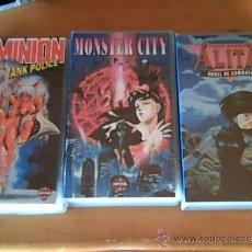 Cine: DOMINION, MONSTER CITY Y ALITA.. Lote 36533749