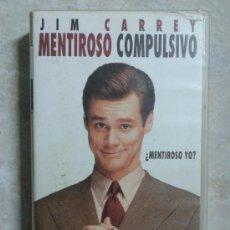 Cine: PELÍCULA - MENTIROSO COMPULSIVO - JIM CARREY - VHS. Lote 36551525