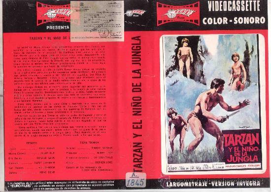 TARZAN Y EL NIÑO DE LA JUNGLA-VHS (Cine - Películas - VHS)