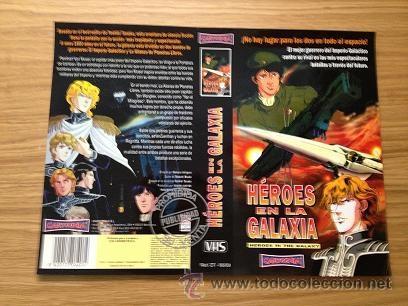 HEROES EN LA GALAXIA - PORTADA VHS PUBLICITARIA (Cine - Películas - VHS)