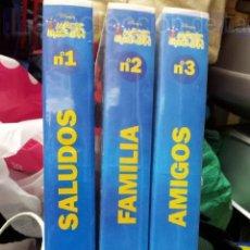 Kino - LOTE 3 PRIMERAS PELICULAS MAGIC ENGLISH EN VHS - 36658488