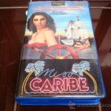 Cine: MISS CARIBE VHS. 659 . Lote 36686017