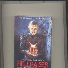 Cine: HELLRAISER. CINE EN VHS.. Lote 37363268