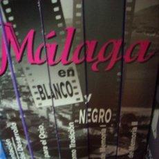 Cine: VHS HISTORIA DE MALAGA EN BLANCO Y NEGRO 5 CINTAS VHS Y CAJA. Lote 36852070