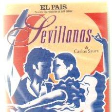 Cine: SEVILLANAS. DE CARLOS SAURA (VHS-472). Lote 36917181