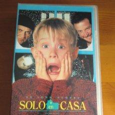 Cine: VHS SOLO EN CASA (1.990) DE CHRIS COLUMBUS. CON MACAULAY CULKIN Y JOE PESCI. ¡NUEVA!. Lote 85650559